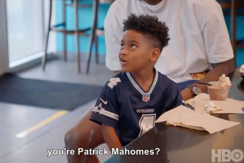 [mignonnerie] Trevon Diggs' son confuses Dak Prescott and Patrick Mahomes